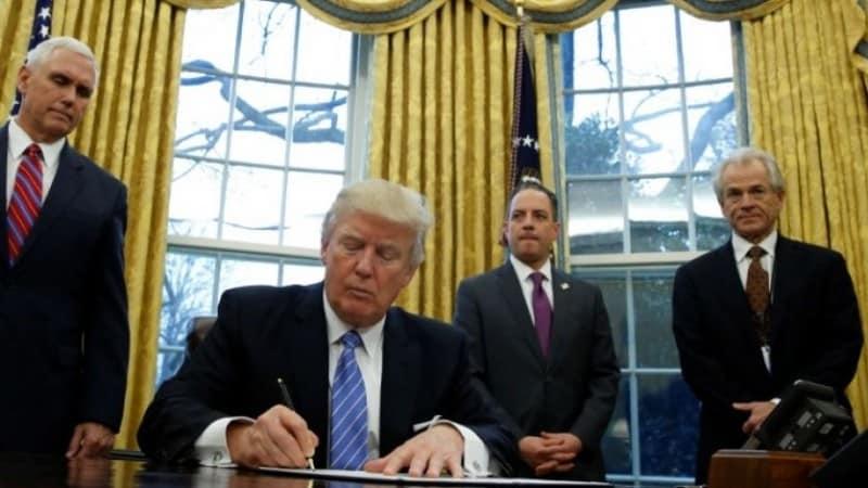 Trump Signing Orders