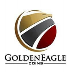 golden eagle coins logo